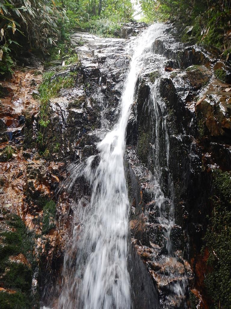 滝と言える傾斜の部分
