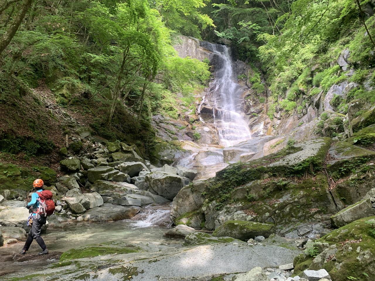 西丹沢・モロクボの大滝