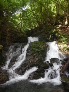連瀑帯最初の滝