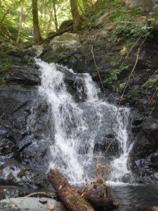 下流部の滝