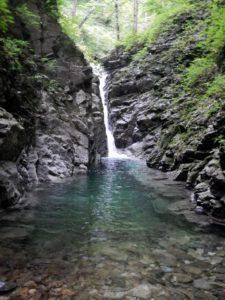Co910付近の12m滝