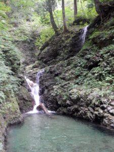 仮称・二ノ沢出合の滝
