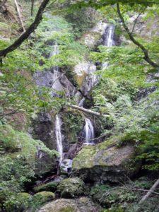 長沢、二条の大滝