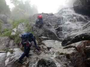 太田切川中御所谷西横川_大滝からも滝が続く