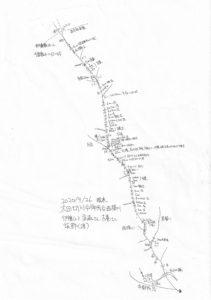 太田切川中御所谷西横川_遡行図