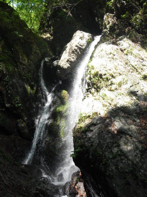 10m2条の滝